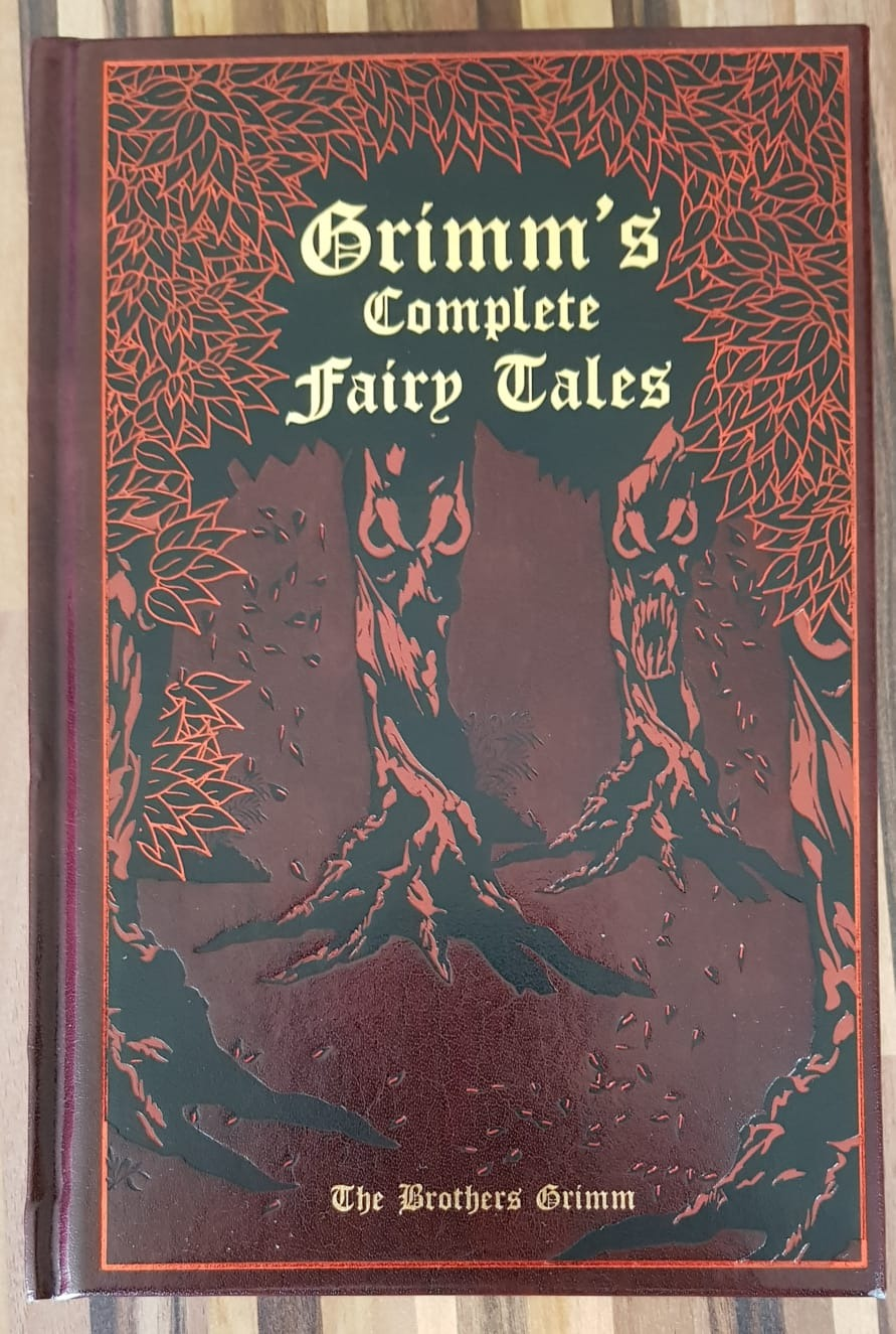 This was not a free children's book. I bought this copy of the Brothers Grimm's stories in a shop ;)