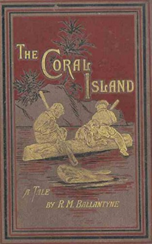The Coral Island Cover. Children's Books in the Public Domain